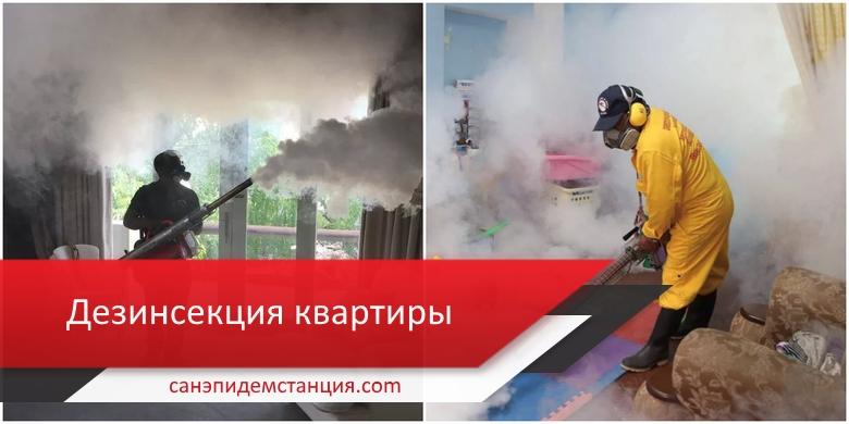 дезинсекция квартиры в москве