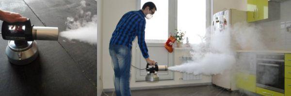 профессиональная дезодорация помещения, удаление запахов и последующая дезинфекция квартиры