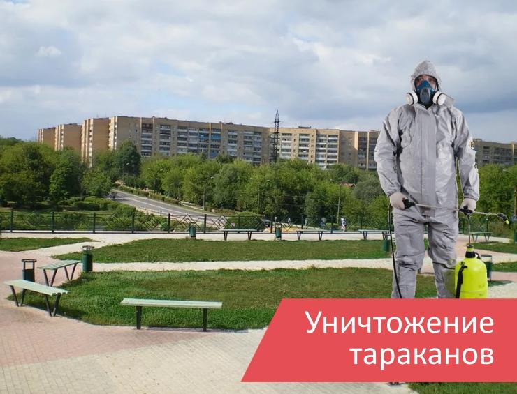 Уничтожение тараканов Климовск