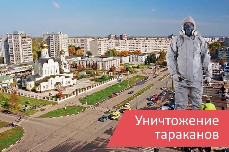 Уничтожение тараканов Обнинск