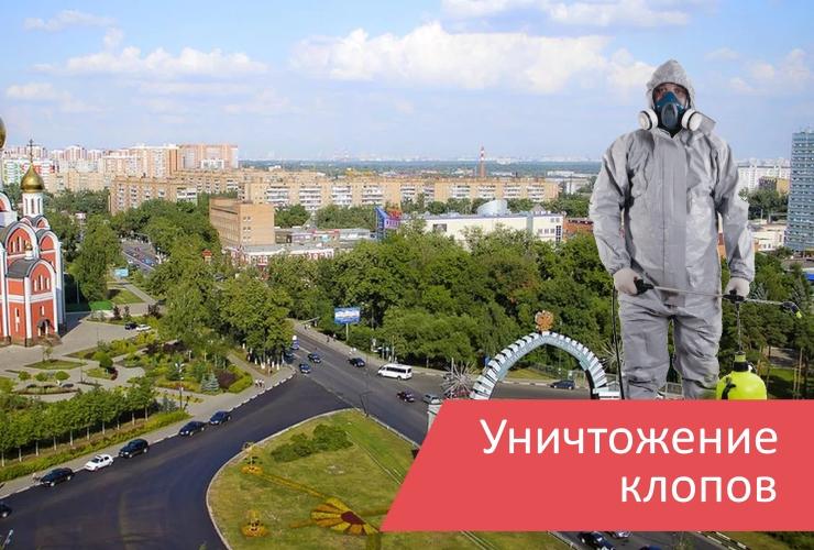 Уничтожение клопов Одинцово