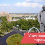 Уничтожение тараканов в Одинцово