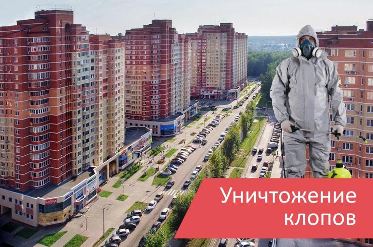 Уничтожение клопов поселение Московский