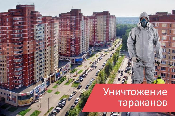 Уничтожение тараканов поселение Московский